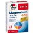 Doppelherz® aktiv Magnesium 400 + B1 + B6 + B12 + Folsäure Tabletten
