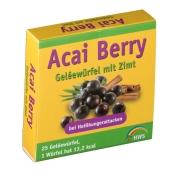 Acai Berry Geléewürfel mit Zimt