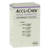 Accu-Chek®Sensor Comfort Pro Kontrolle