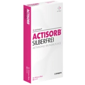 ACTISORB® SILBERFREI 10,5 x 10,5 cm
