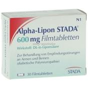 Alpha-Lipon STADA® 600 mg Filmtabletten