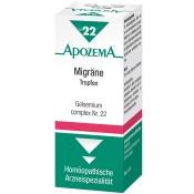 APOZEMA® Migräne-Tropfen Nr. 22