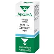 APOZEMA® Mund- und Zahnfleisch-Tropfen Nr. 23