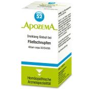 APOZEMA® Nr. 52 Dreiklang Globuli bei Fließschnupfen