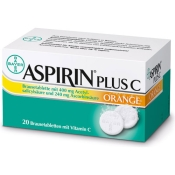 ASPIRIN® Plus C Orange Brausetabletten
