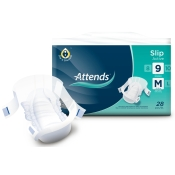 Attends® Slips Active 9 M