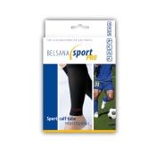 BELSANA sport pro calf tube Sportkniestrumpf Gr. L schwarz