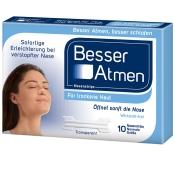BesserAtmen Nasenstrips transparent normale Größe
