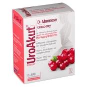 BIOGELAT UroAkut® D-Mannose Cranberry