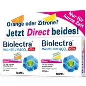Biolectra® Magnesium ultra 400 mg Zitrone und Orange