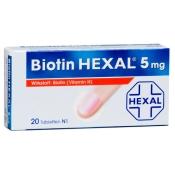 Biotin HEXAL® 5 mg Tabletten