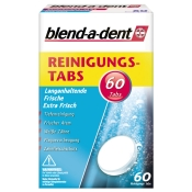 blend-a-dent Reinigungs-Tabs Langanhaltendes Frischegefühl