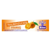 Bloc® Traubenzuckerrolle Orange
