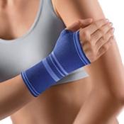 BORT Handgelenkstütze mit eingefasster Daumenaussparung x-large blau