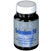 Cell-life Selenium 50 µg Tabletten