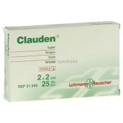 Clauden Tupfer 2 x 2 cm 21540