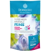 DERMASEL® Totes Meer Badesalz + Peace Limited Edition
