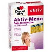 Doppelherz® aktiv Aktiv-Meno Soja-Isoflavone + Calcium + D3 Tabletten