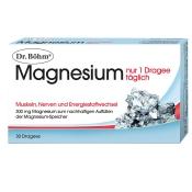 Dr. Böhm® Magnesium nur 1 Dragee täglich