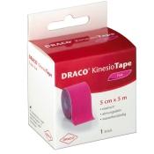 Draco KinesioTape Pink 5 cm x 5 m
