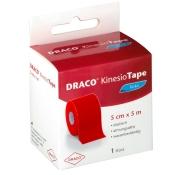 Draco KinesioTape Rot 5 cm x 5 m
