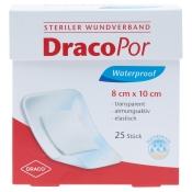 DracoPor Waterproof Wundverband steril 8x10cm