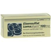 Eisensulfat Lomapharm 100 mg Filmtabletten