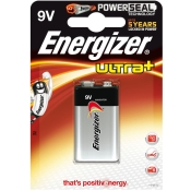Energizer ULTRA+ POWER SEAL E-Block 9V