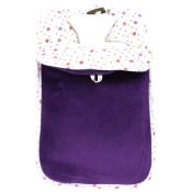 fashy Wärmeflasche mit Einsteckbezug in lila
