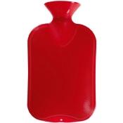 fashy Wärmflasche Halblamelle Kirschrot