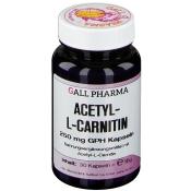 GALL PHARMA Acetyl-L-Carnitin 250 mg Kapseln