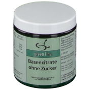 green line Basencitrate ohne Zucker