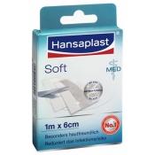 Hansaplast MED Soft 1 m x 6 cm