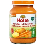 Holle Bio Karotten mit Kartoffeln