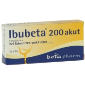 Ibubeta 200 akut Filmtabletten