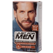 JUST FOR MEN Pflege-Brush-In-Color-Gel aschbraun