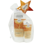 lavera Orange Feeling Bodylotion & Handcreme Set