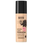 lavera sensitiv Natural Liquid Foundation Honey Beige 04