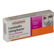 Loratadin ratiopharm® 10 mg