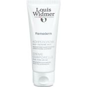Louis Widmer Remederm Körpercreme leicht parfümiert