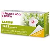 LUUF® Halspastillen Isländisch Moos und Eibisch - Honig & Eukalyptus