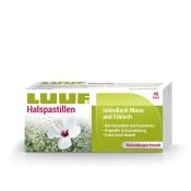 LUUF® Halspastillen mit Isländisch Moos und Eibisch - Holunder