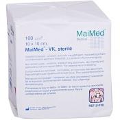 MaiMed® Vlieskompressen 10 x 10 cm 6 fach steril