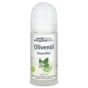 medipharma cosmetics Olivenöl Deoroller Grüner Tee