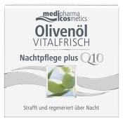 medipharma cosmetics Olivenöl Vitalfrisch Nachtpflege