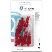 miradent I-Prox® chx Interdentalbürste bordeaux x-large 0,8 - 5,0 mm