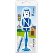 miradent Kid's Brush Hund blau