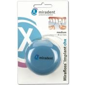 miradent Mirafloss® Implant chx medium türkis