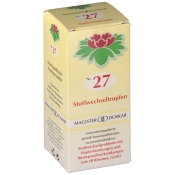 Nr. 27 Stoffwechseltropfen