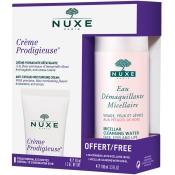 NUXE Crème Prodigieuse® + Eau Démaquillante Micellaire aux Pétales de Rose